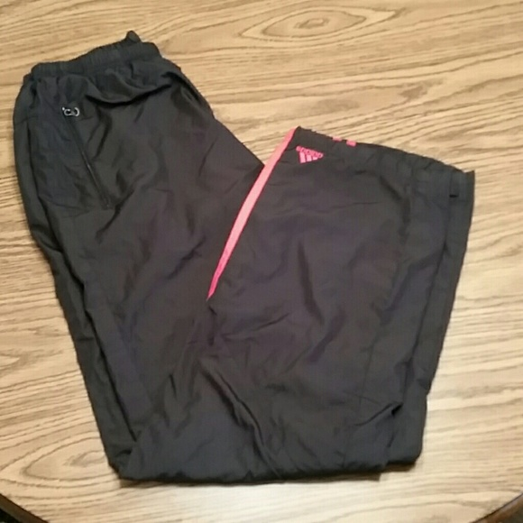 adidas Other - Adidas windbreaker track pants, black,M